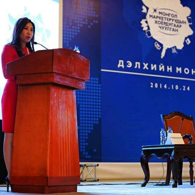 """Ж.Золзаяа: Энэ өдөр бол """"Бүтээлч Монгол"""" Маркетеруудын нэгдэл юм"""