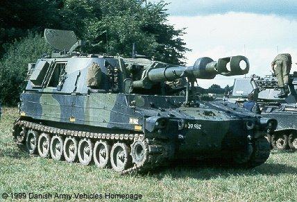 155мм-ийн өөрөө явагч Артиллерийн систем М109